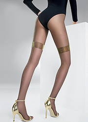 Pierre Mantoux Etoile Backseam Tights