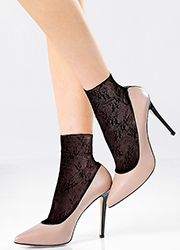 Pierre Mantoux Miranda Lace Ankle Highs Zoom 2