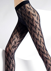 Pierre Mantoux Miranda Lace Footless Tights Zoom 2