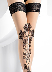 Pierre Mantoux Odessa Lace Top Hold Ups Zoom 2