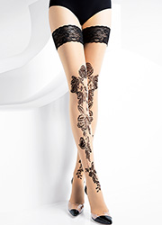 Pierre Mantoux Odessa Lace Top Hold Ups Zoom 1