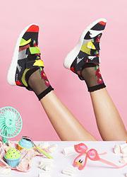 Pierre Mantoux Velia Collection Fruit Joy Ankle Highs