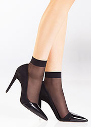 Pierre Mantoux Veloutine 0 Sheer Anklet