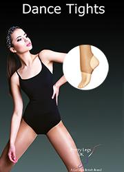 Pretty Legs Adult Stirrup Foot Dance Tights  Thumbnail
