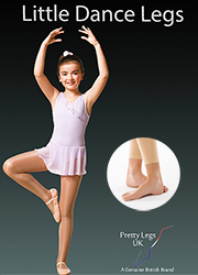 Pretty Legs Little Dance Legs Footless Tights Thumbnail