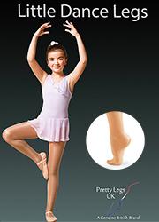 Pretty Legs Little Dance Legs Full Foot Tights Thumbnail