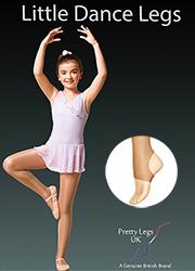 Pretty Legs Little Dance Legs Stirrup Tights Thumbnail