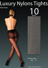Pretty Legs Nylons Luxury 10 Denier Tights Zoom 2