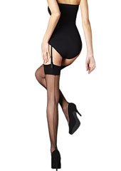 Pretty Legs Luxury Back Seam Stockings Thumbnail