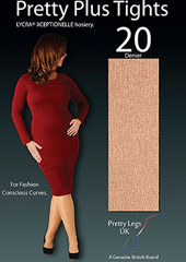 Pretty Legs Pretty Plus Xceptionelle Luxury 20 Denier Tights
