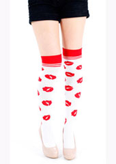 Tiffany Quinn Lips Over The Knee Socks  Zoom 2