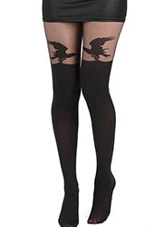 Pamela Mann Alchemy Raven Over The Knee Tights Zoom 2