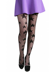 Pamela Mann All Over Sheer Stars Tights