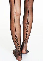 Pamela Mann Be My Valentine Tights Zoom 2