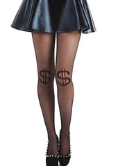 Pamela Mann Dollar Sheer Knee Tights