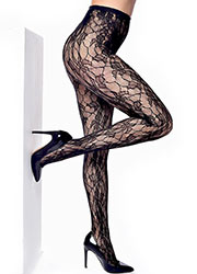 Pamela Mann Orchid Leaf Net Tights