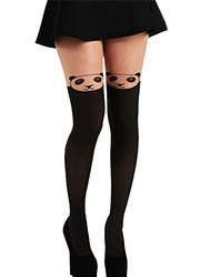 Pamela Mann Over The Knee Panda Tights