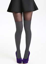 Pamela Mann Rib Over The Knee Tights