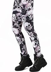 Pamela Mann Riley Skull Print Leggings
