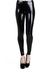 Pamela Mann Wet Look Leggings Zoom 1