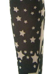 Poppylicious Multi Star Tights Zoom 2