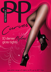 Pretty Polly Curves Nylon Tights Thumbnail
