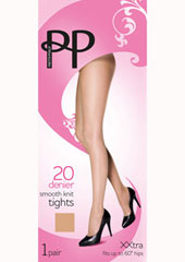 Pretty Polly Smooth Knit Tights XX Large