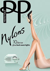 Pretty Polly Nylons Backseam Tights Zoom 1