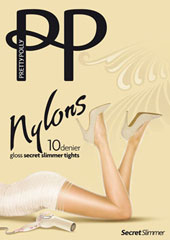 Pretty Polly Nylons 10 Denier Secret Slimmer Tights