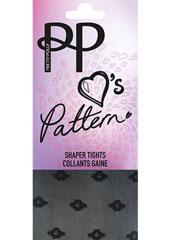 Pretty Polly Pattern Mini Geo Repeat Shaper Tights Thumbnail