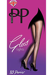 Pretty Polly 10D Gloss Tights Zoom 1