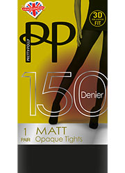 Pretty Polly 150 Denier 3D Matt Tights