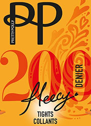 Pretty Polly 200 Denier Fleecy Opaque Tights