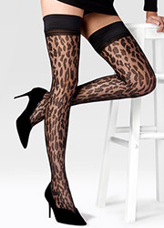 Pretty Polly Animal Design Hold Ups Zoom 2