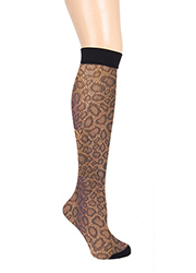 Pretty Polly Animal Fishnet Knee High  Zoom 2