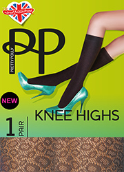 Pretty Polly Animal Fishnet Knee High  Zoom 1