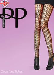 Pretty Polly Circle Net Tights