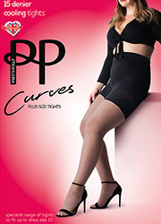 Pretty Polly Curves 15 Denier Cooling Tights Zoom 1