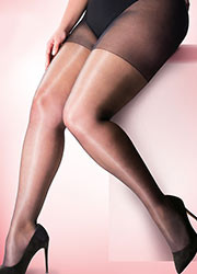 Pretty Polly Curves Gloss Tights 2PP Zoom 2