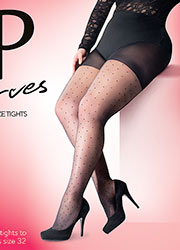 Pretty Polly Curves Pinspot Tights Zoom 2