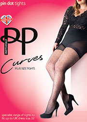Pretty Polly Curves Pinspot Tights