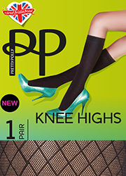Pretty Polly Diamond Design Knee High  Thumbnail