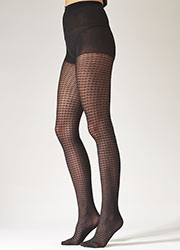 Pretty Polly Fashion Dogtooth Tights Zoom 2