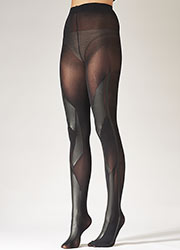 60a50deb1 Pretty Polly Fashion Geo Shine Printed Tights In Stock At UK Tights