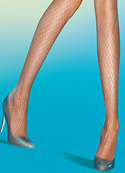 Pretty Polly Tempting Large Net Tights Zoom 2