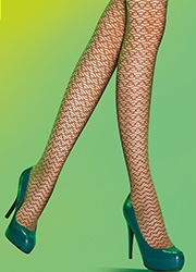 Pretty Polly Waves Fashion Tights Zoom 2