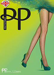 Pretty Polly Waves Fashion Tights Zoom 1