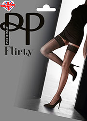 Pretty Polly Flirty Lace Top Hold Ups