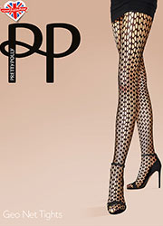Pretty Polly Geo Net Tights Zoom 1