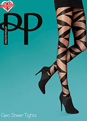 Pretty Polly Geo Sheer Tights Zoom 1